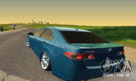 Honda Accord Tuning para GTA San Andreas vista interior