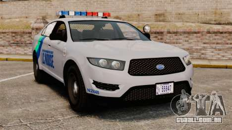 GTA V Vapid Police Stanier Interceptor [ELS] para GTA 4