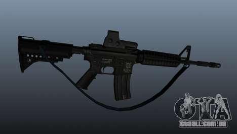 Carabina automática M4A1 para GTA 4 terceira tela