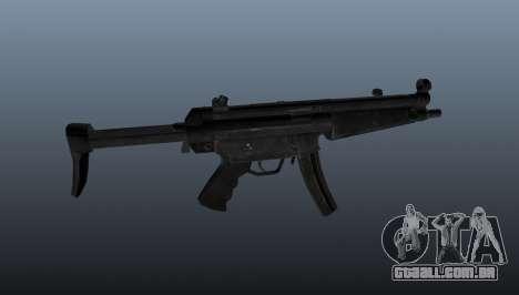 Pistola-metralhadora HK MP5 A3 para GTA 4 terceira tela