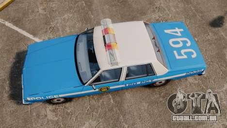 Chevrolet Caprice 1987 LCPD para GTA 4 vista direita