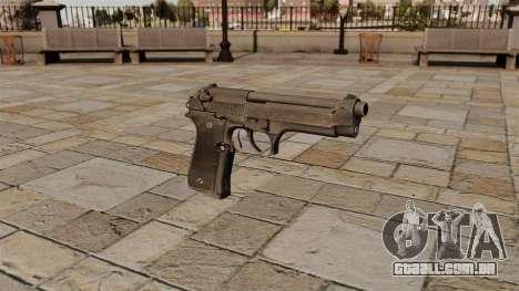Pistola semi-automática Beretta para GTA 4