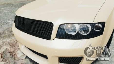 Audi S4 2004 para GTA 4 vista de volta