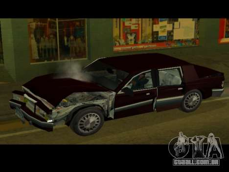 Willard HD (Dodge dynasty) para GTA San Andreas vista direita