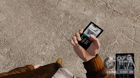 O tema para o telefone GTAGaming para GTA 4