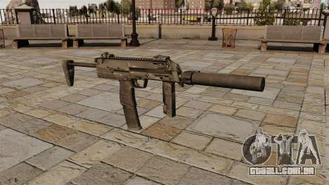 Pistola-metralhadora HK MP7 para GTA 4