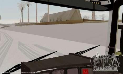 Painel ativo v. 3.2 completo para GTA San Andreas quinto tela