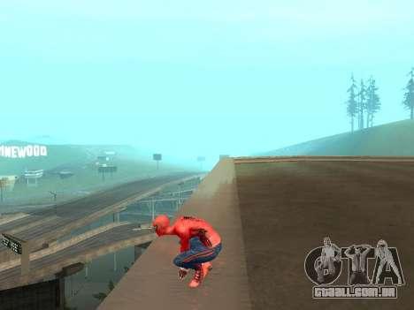 Agachar-se como o homem-aranha para GTA San Andreas