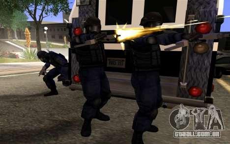 SWAT de Manhunt 2 para GTA San Andreas terceira tela