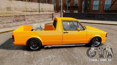 Volkswagen Caddy para GTA 4 esquerda vista