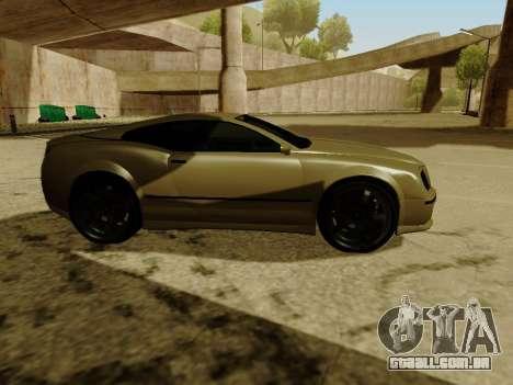 Cognocsenti Cabrio de GTA 5 para GTA San Andreas vista interior