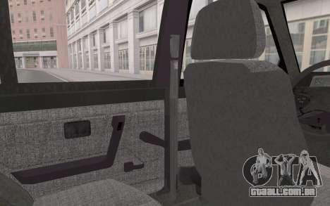 FSO Polonez Atu Orciari 1.4 GLI 16V para GTA San Andreas vista interior