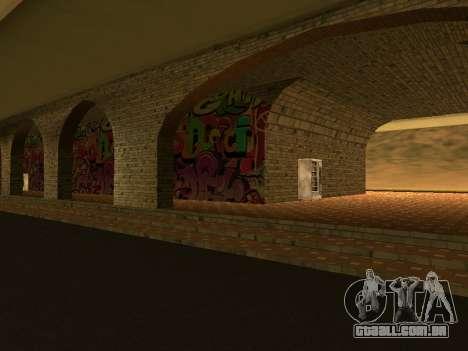V 1.0 de Las Venturas de estação ferroviária para GTA San Andreas segunda tela