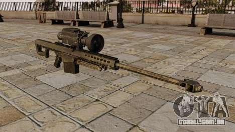 O Barrett M82 sniper rifle para GTA 4