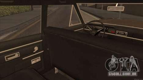 Perennial HD from GTA 3 para GTA San Andreas vista traseira