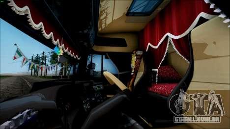 Scania P400 para GTA San Andreas traseira esquerda vista