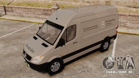 Mercedes-Benz Sprinter 2500 2011 v1.4 para GTA 4 rodas