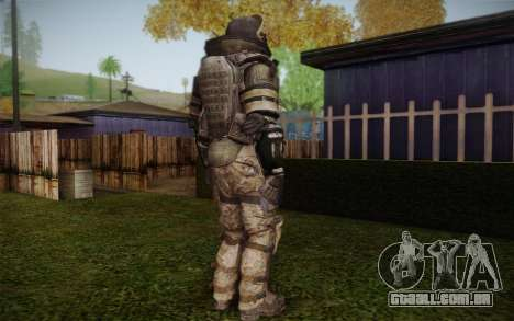 COD MW3 Heavy Commando para GTA San Andreas quinto tela