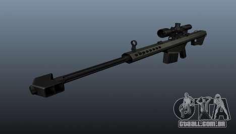 Rifle de sniper Barrett M82A1 para GTA 4