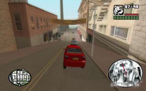 Speedometr da Rockstar para GTA San Andreas segunda tela