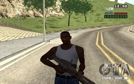 M60E4 para GTA San Andreas sexta tela