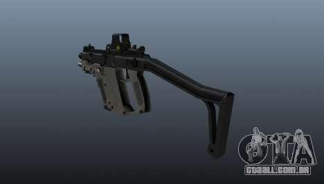 Pistola-metralhadora Kriss Super V para GTA 4 segundo screenshot