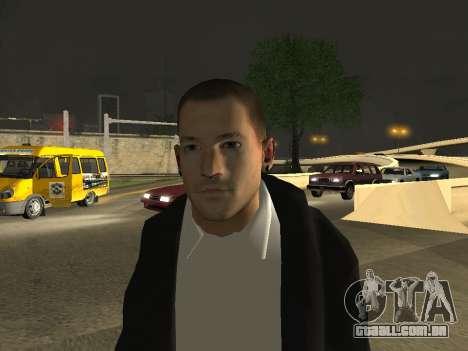 Chester Bennington para GTA San Andreas terceira tela