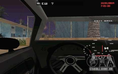 Challenger Missile para vista lateral GTA San Andreas