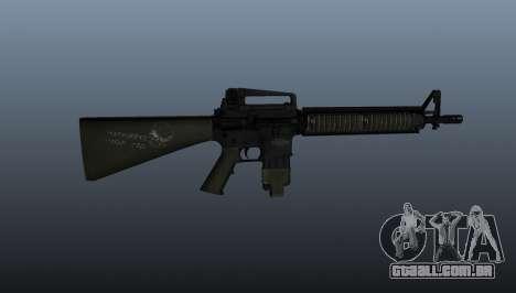 O fuzil M16A4 para GTA 4 terceira tela