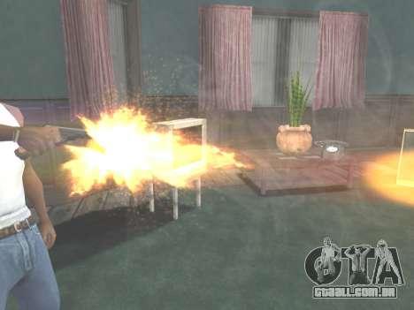 Ruger .22 para GTA San Andreas sexta tela