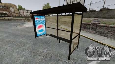 Nova publicidade nas paragens de autocarro para GTA 4 quinto tela