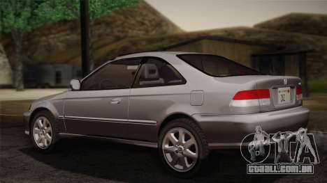 Honda Civic Si 1999 Coupe para GTA San Andreas esquerda vista