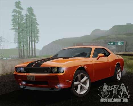 Dodge Challenger SRT-8 2010 para GTA San Andreas