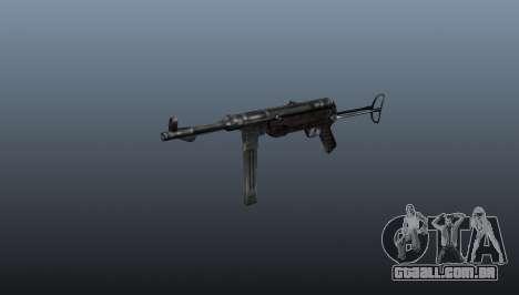 Pistola-metralhadora MP 40 para GTA 4