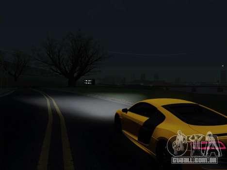 Audi R8 V10 Plus para GTA San Andreas vista direita