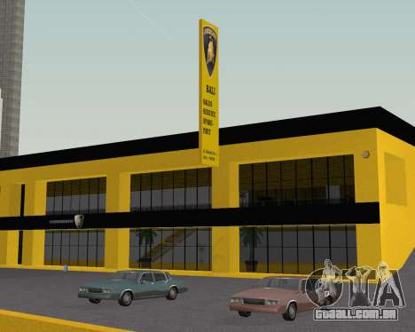 Lamborghini Dealer San Fierro para GTA San Andreas