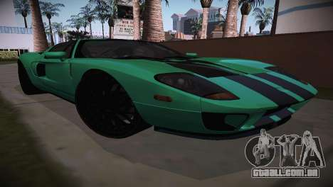 Ford GT TT Ultimate Edition para GTA San Andreas traseira esquerda vista