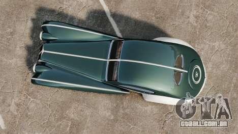 GTA V Z-Type para GTA 4 vista direita