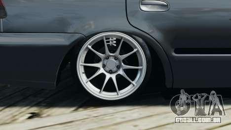 Honda Civic 1.6i ES para GTA 4 vista lateral