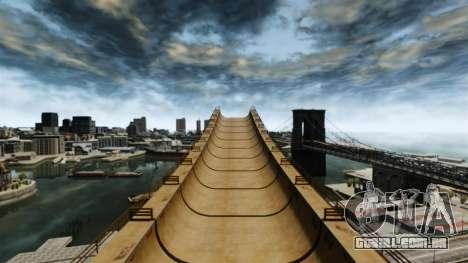 Mega salto para GTA 4 por diante tela