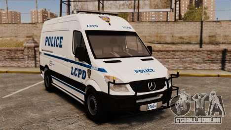 Mercedes-Benz Sprinter 2500 Prisoner Transport para GTA 4