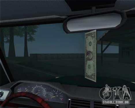 Mercedes-Benz G500 1999 Short para vista lateral GTA San Andreas