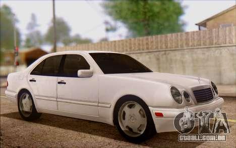 Mercedes-Benz E420 v2.0 para GTA San Andreas