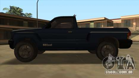 Bobcat HD from GTA 3 para GTA San Andreas traseira esquerda vista