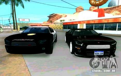 Police Buffalo GTA V para GTA San Andreas vista direita