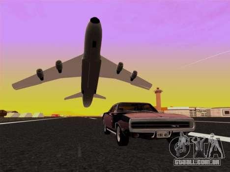 SA_RaptorX v 2.0 para PC fraco para GTA San Andreas nono tela