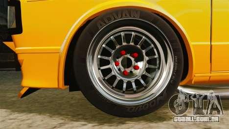 Volkswagen Caddy para GTA 4 vista de volta