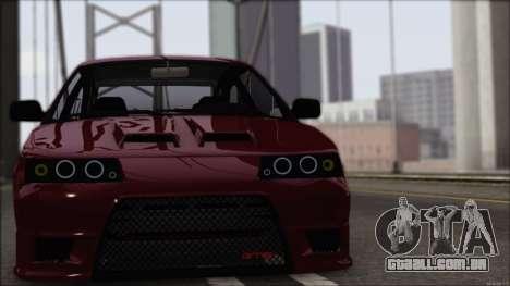 Esportes VAZ-2112 para GTA San Andreas esquerda vista