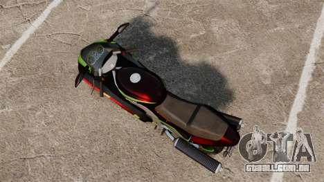GTA IV TLAD Hakuchou para GTA 4 traseira esquerda vista