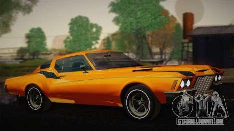 Buick Riviera 1972 Carbine Version para GTA San Andreas
